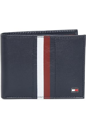 Tommy Hilfiger Men Navy Blue Solid Two Fold Leather Wallet