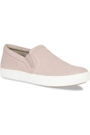 Naturalizer Women PinkPerforated Leather Slip-On Sneakers