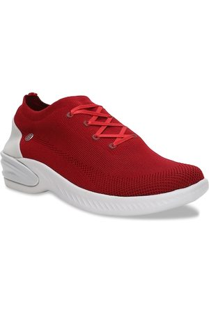 Naturalizer Women Red Woven Design Sneakers