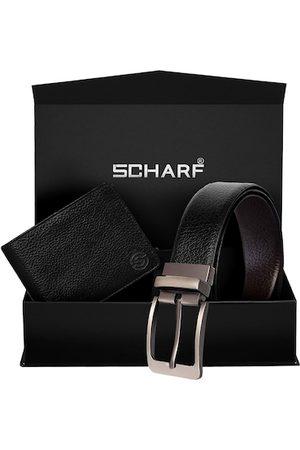Scharf Men Black Accessory Gift Set