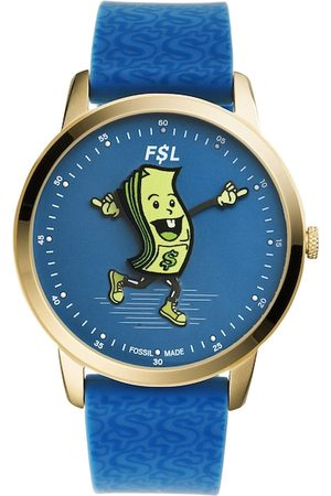 Fossil Men Blue The Minimalist Analogue Watch LE1105