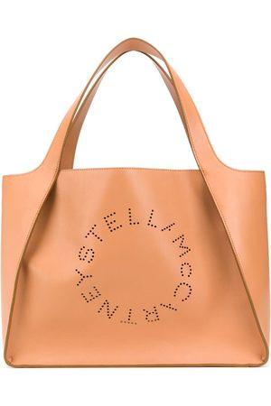 Stella McCartney Logo perforated tote bag