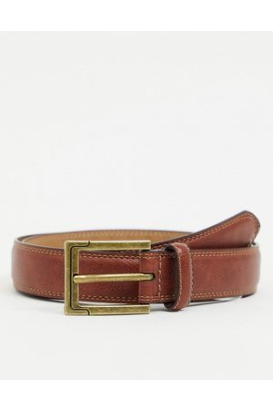 River Island Smart belt in tan