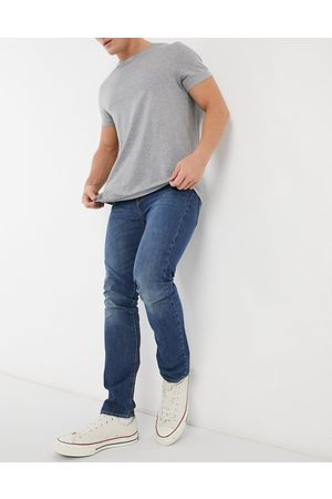 Levi's Levi's 510 skinny fit Moose Tracks jeans in mid wash