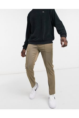 River Island Twill joggers in