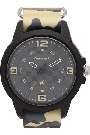 Fastrack Men Charcoal Grey Analogue Watch 38048PP02_OR1