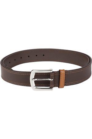 Titan Men Brown Solid Belt