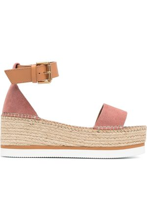 See by Chloé Ankle-strap wedge sandals