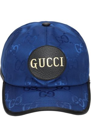 Gucci Men Hats - Off The Grid Nylon Baseball Cap