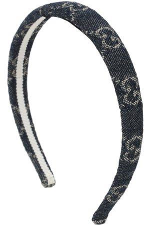 Gucci Eco Washed Denim Gg Hairband