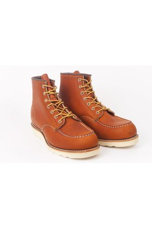 Red Wing Men Boots - Redwing 6 Classic Mock Toe 0875 Boot - Oro Legacy