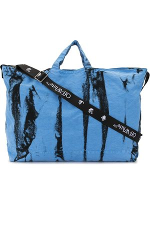 OFF-WHITE Tie-dye tote bag