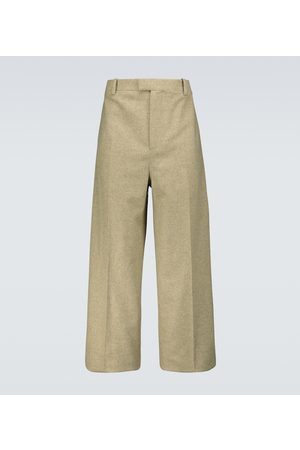 Bottega Veneta Wool-blend flannel pants