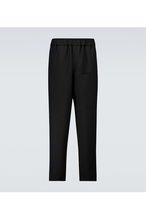 Jil Sander Elasticated wool pants