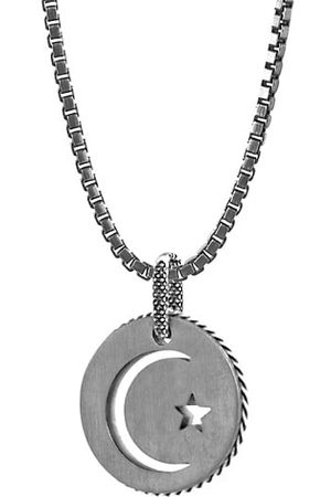 Tateossian Men Necklaces - Talismans Stainless Steel Pendant Necklace