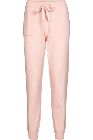 Jardin des Orangers Wool and cashmere trackpants