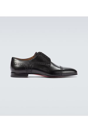 Christian Louboutin Men Flats - Eygeny flat leather derby shoes