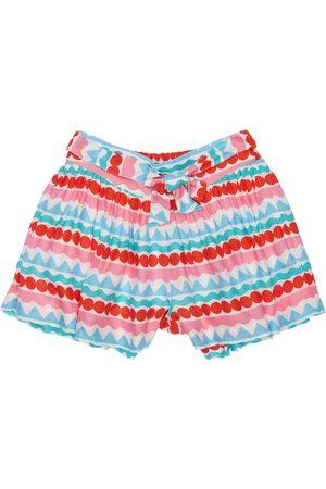 Stella McCartney Printed Viscose Twill Shorts