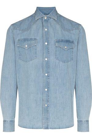 Brunello Cucinelli Long-sleeve denim shirt