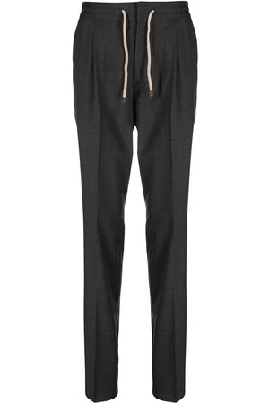Brunello Cucinelli Straight leg wool trousers