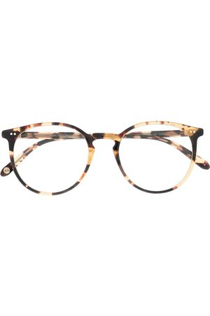 GARRETT LEIGHT Morning Side round-frame glasses