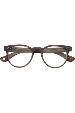 GARRETT LEIGHT Boccaccio round-frame glasses