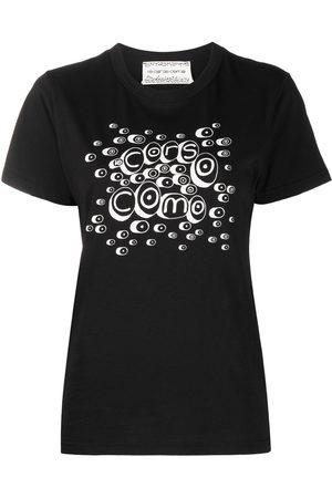 10 CORSO COMO Women Short Sleeve - Logo-print short-sleeved t-shirt