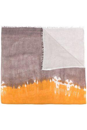 Faliero Sarti Tie-dye lightweight scarf