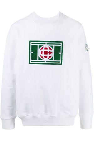 Casablanca Logo patch sweatshirt