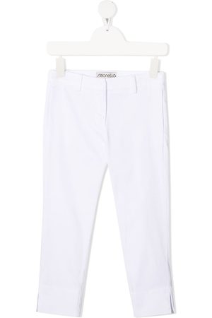 Simonetta Slim-fit tailored trousers