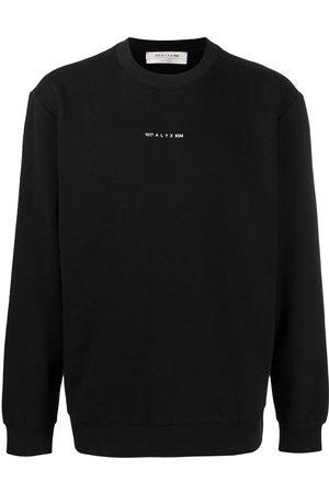 1017 ALYX 9SM Men Sweatshirts - Logo-print cotton sweatshirt