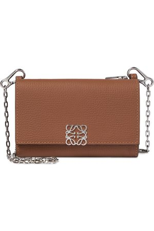 Loewe Anagram Small leather clutch