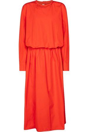 Marni Women Midi Dresses - Cotton poplin midi dress