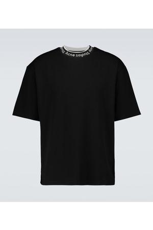 Acne Studios Extorr logo short-sleeved T-shirt