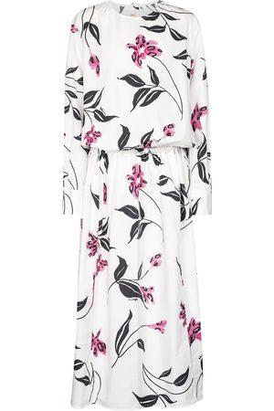 Marni Women Printed Dresses - Floral cotton poplin midi dress