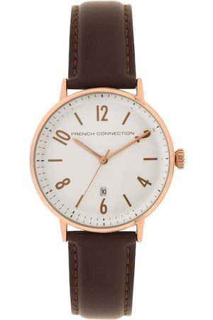 French Connection Men White Analogue Watch FC155BR