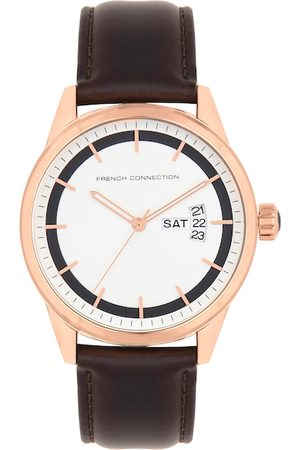 French Connection Men Rose Gold Analogue Watch