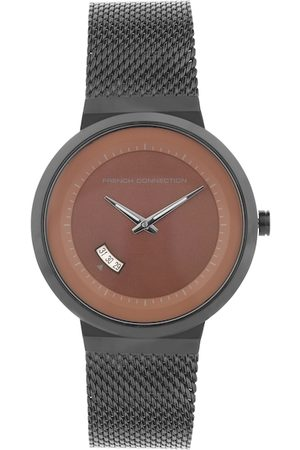 French Connection Men Brown Analogue Watch FC160BM