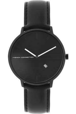 French Connection Men Black Analogue Watch