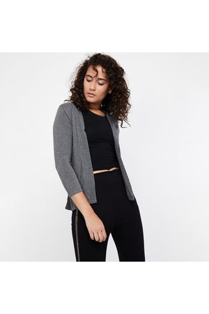 Code Women Cardigans - Solid Knitted Shrug