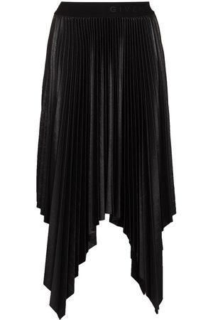 Givenchy Asymmetric pleated skirt
