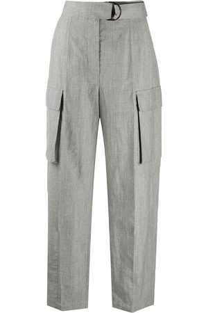 Brunello Cucinelli Women Formal Trousers - Tailored combat trousers