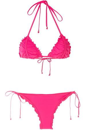 AMIR SLAMA Women Sets - Ripple effect bikini set