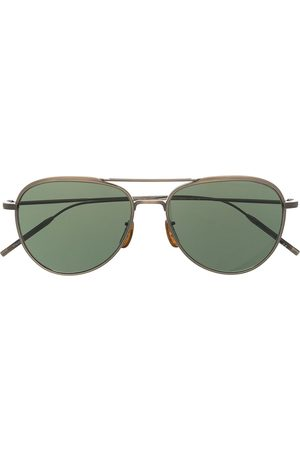 Oliver Peoples Aviator-frame sunglasses