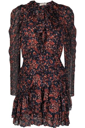 ULLA JOHNSON Women Printed Dresses - Cecily Cosmos-print mini dress