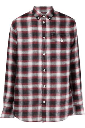 Dsquared2 Men Long sleeves - Checked long-sleeve shirt