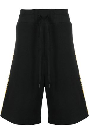 VERSACE Baroque-print cotton shorts