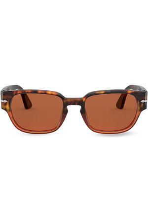 Persol Tortoiseshell-effect square-frame sunglasses