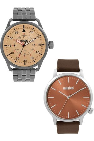 UNLISTED A KENNETH COLE PRODUCTION Men Set Of 2 Analogue Watch UL51150003