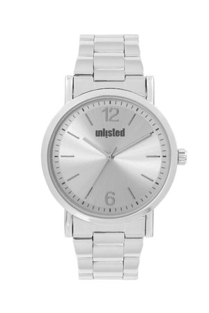 UNLISTED A KENNETH COLE PRODUCTION Men Silver-Toned Analogue Watch UL50312004